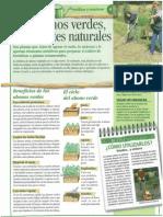 Los Abonos Verdes Fertilizantes Naturales