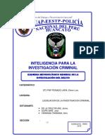 esquema metodologico del delito