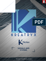 Kreatryx Signals & Systems