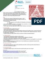 Memo Ff Rendez Vous en Francais Parler Des Fetes de Noel Dec 2017 AG