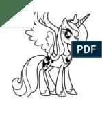 Mewarnai Kuda Pony