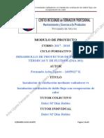 Calefaccion Radiadores vs Ventilacion Doble Flujo Aire Con Recuperador_IMA301D