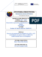 Instalacion AFS y ACS Con Aporte Solar Para Edificio Multiviviendas_IMA301D