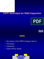TOFD Technique for Weld Inspection