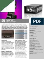 Type 85 Di Box Datasheet