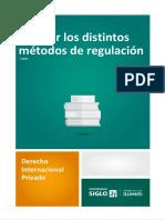 Derecho Internacional Privado - Métodos de regulación