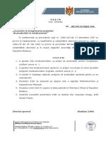 Ordinul AMDM 346 Din 03.12.2018