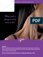 Cervical Dystonia Patient Brochure