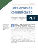 Sete Erros de Comunicacao