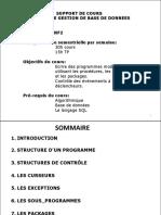 Cours Plsql