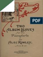Alec Rowley - Two Album Leaves for Piano.pdf
