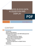 ADVANCES IN ECG DATA ACQUISITION AND DISPLAY