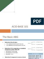 Acid Base
