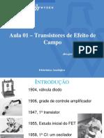 Eletrônica Analógica - 01 Transistores de Efeito de Campo