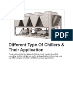 Different Type of Chillers