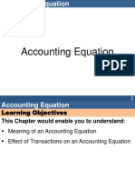 Accounting Equation 1