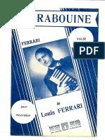Louis Ferrari - La Rabouine (Valse)
