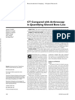 Ct vs Arthrosdopy of Shoulder