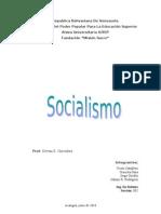 Socialismo Del Siglo Xii