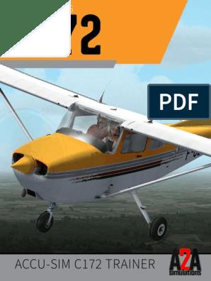 A2A C172 Pilot's Manual   Flap (Aeronautics)   Aircraft