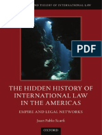 The Hidden History of International Law in the Americas Empire and Legal Networks
