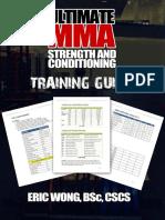 Ultimate Mma Training Guide Ericwongmma