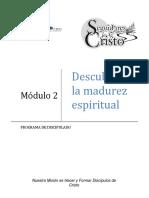 SC - Clase 201 Descubre Tu Madurez Cristiana