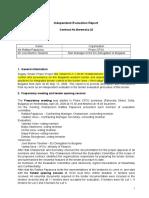 Independent Evaluation Report-V5
