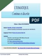 Automatique Continu Numerique Ouldbouamama