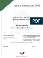 100 PROVAS FUMARC - Comentadas Pelo Prof. Carlinhos S