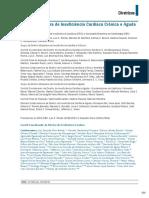 SBC - Diretriz Bras de IC Cronica e Aguda