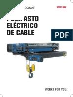 Polipastos a Cable TEREX DONATI