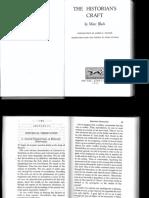 BLOCH, Marc. The Historian's Craft.pdf