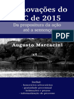 as inovações do novo codigo de processo civil de 2015