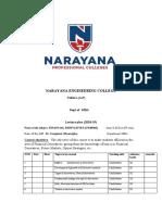 Fd Schedule & Qb