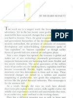 richard sennett the new capitalism