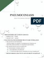 (Upgraded) PA - Pneumoconiasis