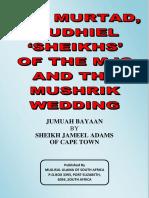 MJC and the Mushrik Wedding