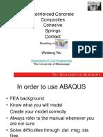 Advanced Topics in ABAQUS Simulation-1