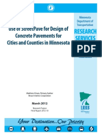 Use of StreetPave