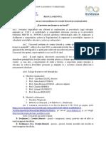 regulament Dascalul - sintetic
