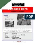 Compass Bank 10-2801275, Public Flyer