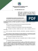 Lei Complementar 809-2015 - Contratacoes Temporarias No Es