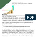 Microeconomía y Macroeconomia