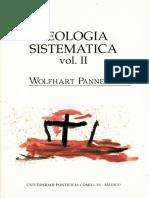 PANNENBERG Wolfhart Teologia Sistematica Vol 2
