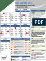 Calendário Academico 2019.1