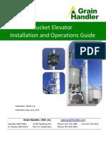 Grain Handler Bucket Elevator Installation and Ops Manual v12