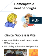 TheHomeopathicTreatment of Coughs Influenza