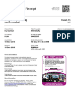 KLIAekspres E-Ticket - Receipt Number 4433317