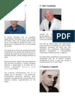 Biografía de 5 Científicos Guatemaltecos